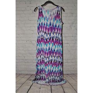Purple & Blue Multi Dress